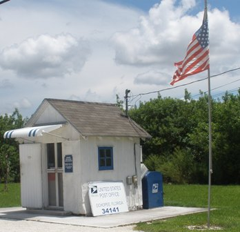 Tiny Ochopee Post Office