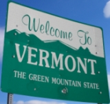 places to visit in vermont; vermont sign