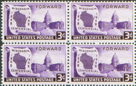 places to visit in wisconsin; wisconsin stamp