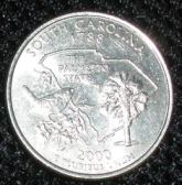 south carolina vacation spots; south carolina coin