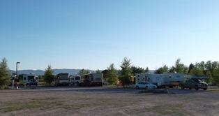 View of Campground, Tetonia, Idaho