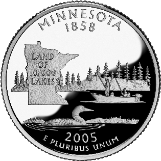 minnesota treasures; minnesota coin