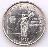 pennsylvania-family-vacations; pennsylvania coin